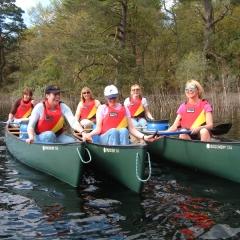 canoeing-hen
