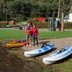Balmaha canoes Loch Lomond