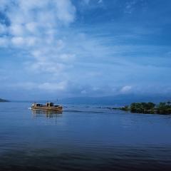 Balmaha mail boat Loch Lomond